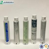Buy cheap Toothpaste Container Cosmetic Tube , Glossy Squeeze Aluminum Plastic Laminated Tube product