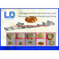 Buy cheap Diesel / Electric Extruded Fried Wheat Potato Cassava Tapioca Pellet Food Machine product