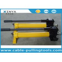 Buy cheap CP-390 Small High Pressure Hand Pump Manual Hydraulic Pump from wholesalers