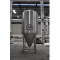 30BBL Beer Fermenting Tank / Stainless Steel Beer Fermenter Jacketed For Brewery
