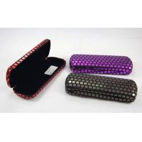 Buy cheap Printing Classic Luxury Small Spectacle Cases Polka Dot Designed 160X60X31 mm product