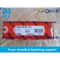 Low Noise Chrome Steel Cylindrical Roller Bearing For Free End Bearing