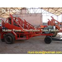 China Self Loading Cable Trailer Cable and Pipe Laying Equipment on sale