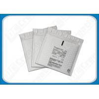 Buy cheap 160 × 160 Light-Weight Plastic Film Protective Poly Bubble Envelopes , Printed Bubble Envelopes product