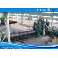 Buy cheap Large Diameter Spiral Weld Pipe Machine High Performance For Gas Delivery product