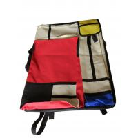 Buy cheap 4K hand-held double-sided drawer bag stitching red and yellow blue multi-functional painting bag product