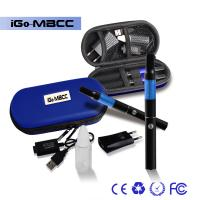 Buy cheap 650mAh Blue Mini BCC Clear Cartomizer 800 puffs With Ego Case from wholesalers