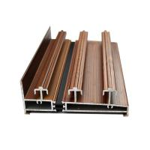 Quality Multifunctional Wardrobe Aluminium Profile Quality Light Aluminum Window Parts for sale