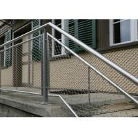 Buy cheap Flexible Stainless Steel Wire Rope Mesh Architecture Cable Mesh For Balustrade Infill product