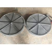 Buy cheap Stainless Steel Mesh / Wire Mesh Demister Light Weight Easy Maintenance product