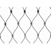 Buy cheap Stainless Steel Wire Rope Green Wall Mesh 304 304L 316 316L product