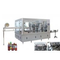 Buy cheap Small Scale Fruit Juice Processing Line / Tea Manufacturing Equipment SUS304 product