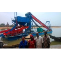 Buy cheap 3200m3 Bucket Chain Dredger from wholesalers