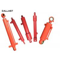 Buy cheap Double Acting Telescopic Hydraulic Cylinder , Piston Farm Machinery Hydraulic Oil Cylinder product
