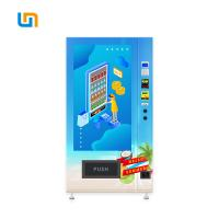 Buy cheap Easy Control Cold Food Vending Machines , Durable Cold Beverage Vending Machine product