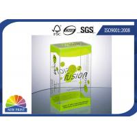 Buy cheap Plastic Clamshell Packaging Transparent PVC Boxes with UV Coating Eco-friendly and Recycled from wholesalers