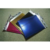 Quality Pink Metallic Bubble Mailers 120x165 #FD-MO for sale