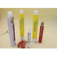 Buy cheap Aluminum Printed Tube Packaging For Ointment Cream / Gel Screw Cap product