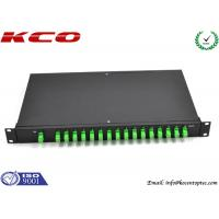 Buy cheap Fiber Optic Rack Mount PLC Splitter product