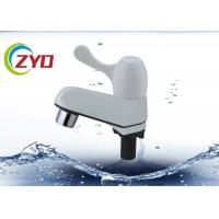 Buy cheap White Water Tap Faucet High Performance Anti Acid Plastic Material product