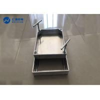 China Multi Processing CNC Aluminum Box Parterre Flower Stand Long Durability for sale