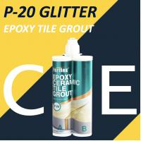 Buy cheap Stain Resistance Glitter Floor Grout , Commercial Tile Grout Waterproof product