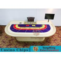 Buy cheap Entertainment Casino Poker Table For 9 Players 2600*1470*800mm product