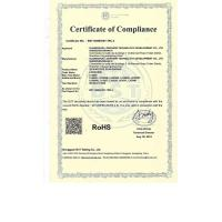 Shenzhen Rakinda Technology Development Co., Ltd. Certifications
