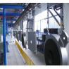 Buy cheap Steel Door Baking Hanging Conveyor Automated Conveyor Systems Adjustable Speed from wholesalers