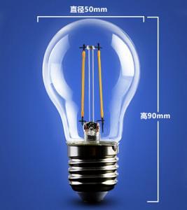 Buy cheap golden base aluminum plastic C35 A60 E27 E14 Edison RGB COG lamp LED Filament Bulb Light product