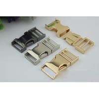 Buy cheap High Quality Zinc Alloy Light Gold 3/4 Inch Quickly Release Metal Buckles For Dog Collar product