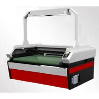 Fabric Laser Cutting Machine With Feeder , Automatic Fabric Cutting Machine
