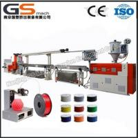 Buy cheap high accuracy plastic filament extruding machine product