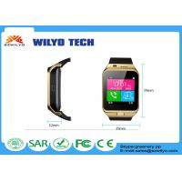 Buy cheap Intelligent Bluetooth Clock Cell Phone Wrist Watch Smartphone Support GSM product