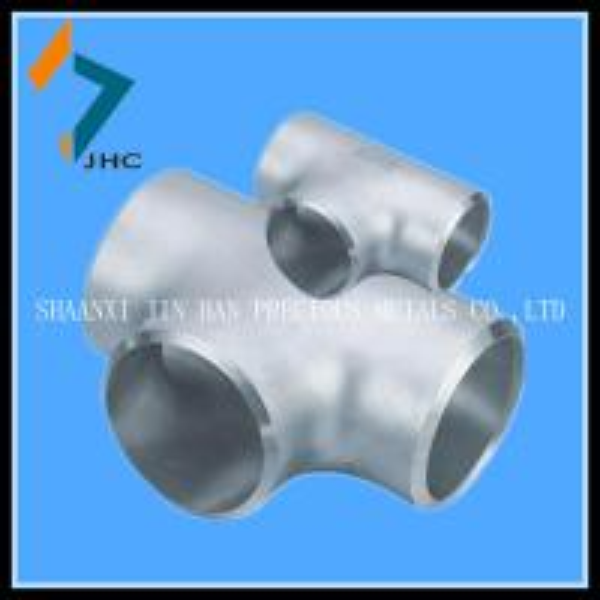 Elbow reducing tee staub end swage flange of titanium pipe