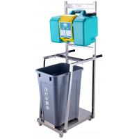 China Dust Proof Emergency Eye Wash Station Pro - Environment Green With Trolley on sale