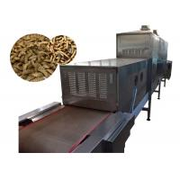 Buy cheap High Production Efficiency Microwave Vacuum Drying Equipment 120KW For Fly Larvae product