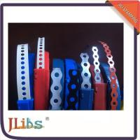China Perforated Steel Metal Fixing Band 10 Meter Straight Flange Banding ISO9001 Certification on sale