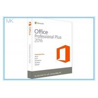 China Original Key Microsoft Office 2016 Professional Plus Software Retailbox With USB on sale
