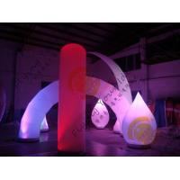 Buy cheap Advertising Inflatable Arch Balloon Led Lighting For Festival Decoration product