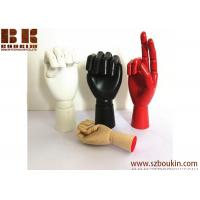 China free 3d colorful wooden manikin hands model for glove/jewelry display on sale