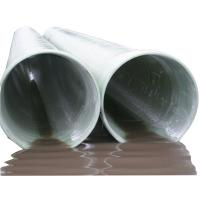 Quality Fiberglass pipe FRP pipe for water supply for sale