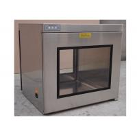 Buy cheap Hepa Filter H13 / H14 Static Cleanroom Pass Box / Cleanroom Pass Through Chambers product