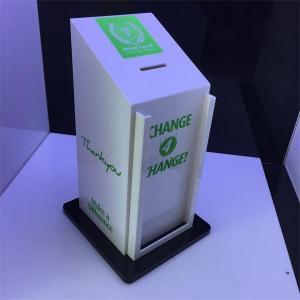 Buy cheap 2016 Factory Handmade Manufacturing Acrylic Donation Money Box product