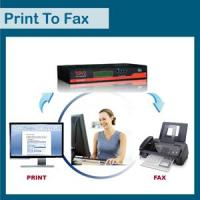 Buy cheap Bavo print to fax fax server ( FG20PRO) product