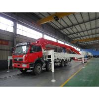 Buy cheap LNG Engine 37m 8x4 FAW 380HP Concrete Pump Trucks with RHD Type product