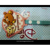 Buy cheap manufacture wholesale custom funny 3D soft pvc cartoon luggage tag product