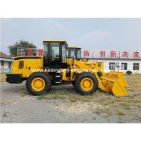 Quality 3000kg Loading Capacity Wheel Heavy Equipment Loader With 127kn Breakout Force And 3100mm Dump Height for sale