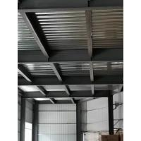 Buy cheap Customize Garage Steel Frame / Steel Structure Building Grey Color For Car Parking product