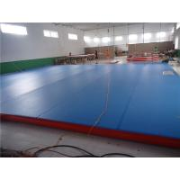 Buy cheap Professional Air Track Mat Parkour Air Mat For Practice 15*2*0.2M product